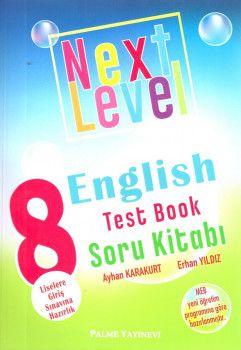 Palme Yayınları 8. Sınıf Next Level English Test Book Soru Kitabı