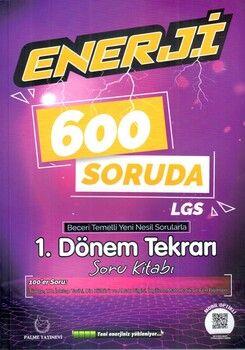 Palme Yayınları 8. Sınıf LGS 600 Soruda Enerji Beceri Temelli Soru Kitabı