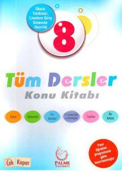 Palme Yayınları 8. Sınıf Tüm Dersler Konu Kitabı