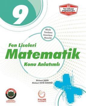 Palme Yayınları 9. Sınıf Matematik Konu Anlatımlı Fen Liseleri İçin