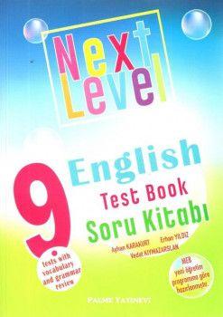 Palme Yayınları 9. Sınıf Next Level English Test Book Soru Kitabı