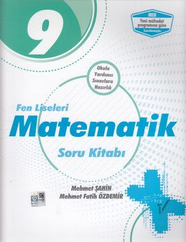 Palme Yayınları 9. Sınıf Fen Liseleri Matematik Soru Kitabı