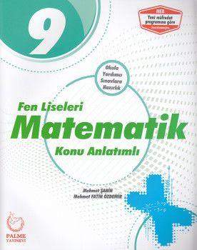 Palme Yayınları 9. Sınıf Fen Liseleri Matematik Konu Anlatımlı