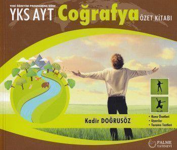 Palme Yayınları AYT Coğrafya Özet Kitabı