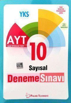 Palme Yayınları AYT Sayısal 10 Deneme Sınavı