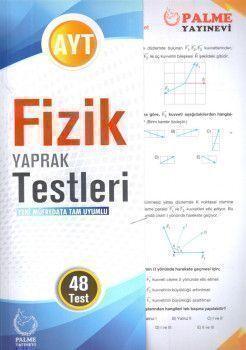Palme Yayınları AYT Fizik Yaprak Testleri