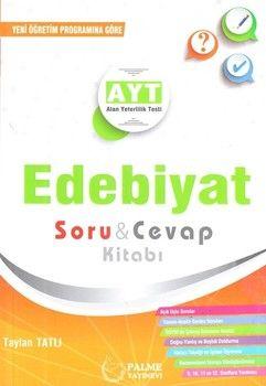 Palme Yayınları AYT Edebiyat Soru Cevap Kitabı