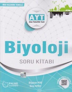 Palme Yayınları AYT Biyoloji Tamamı Video Çözümlü Soru Kitabı