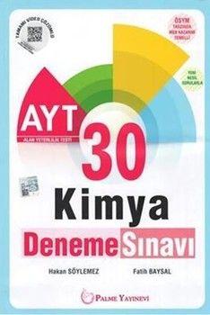 Palme Yayınları AYT Kimya 30 Deneme