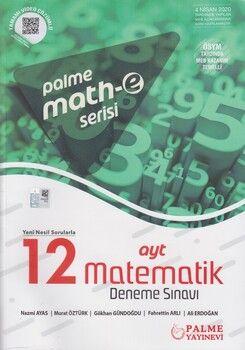 Palme Yayınları AYT Matematik 12 Deneme Sınavı Mathe Serisi