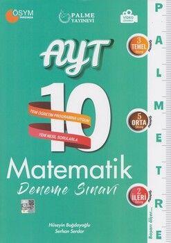 Palme Yayınları AYT Matematik Palmetre Serisi 10 Deneme Sınavı