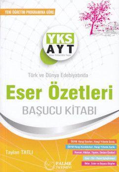 Palme Yayınları AYT Eser Özetleri Başucu Kitabı