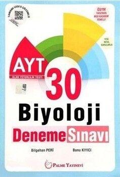 Palme Yayınları AYT Biyoloji 30 Deneme Video Çözümlü