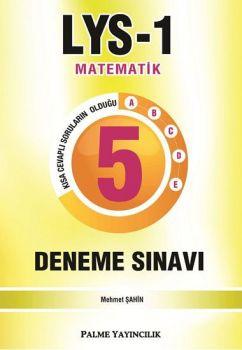Palme Yayınları LYS 1 Matematik 5 Deneme Sınavı