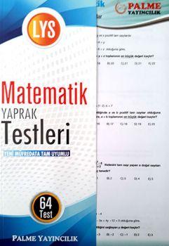 Palme Yayınları LYS Matematik Yaprak Testleri