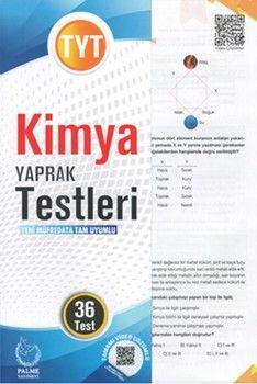 Palme Yayınları TYT Kimya Yaprak Test