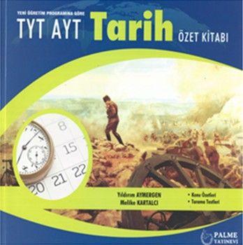 Palme Yayınları TYT AYT Tarih Özet Kitabı