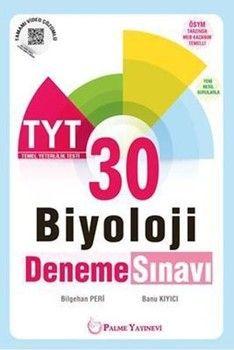 Palme Yayınları TYT Biyoloji 30 Deneme Sınavı