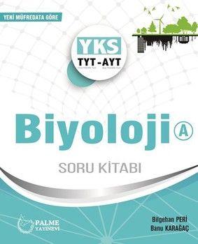 Palme Yayınları TYT AYT Biyoloji A Soru Kitabı