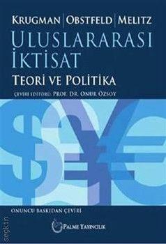 Palme Yayınları Uluslararası İktisat Teori ve Politika