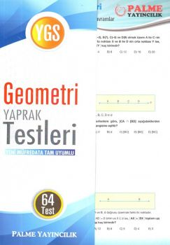 Palme Yayınları YGS Geometri Konu Testi