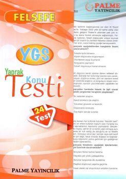 Palme Yayınları YGS Felsefe Konu Testi