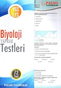 Palme Yayınları YGS LYS Biyoloji Konu Testi