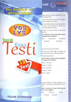 Palme Yayınları YGS LYS Din Kültürü Konu Testi