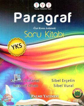 Palme Yayınları YKS 1. Oturum TYT Paragraf Soru Kitabı