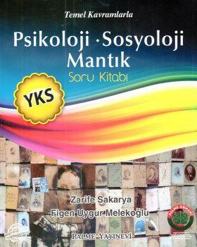Palme Yayınları YKS Psikoloji Sosyoloji Mantık Soru Kitabı