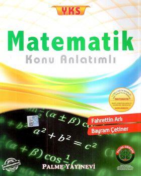 Palme Yayınları YKS Matematik Konu Anlatımlı