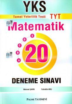 Palme Yayınları YKS 1. Oturum TYT Matematik 20 Deneme