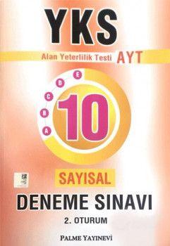 Palme Yayınları YKS 2. Oturum AYT Sayısal 10 Deneme Sınavı