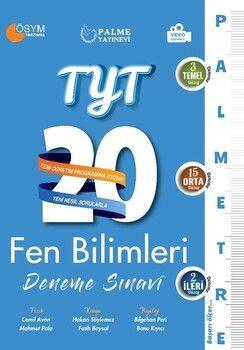 Palme YayınlarıTYT Fen Bilimleri Palmetre Serisi 20 Deneme Video Çözümlü