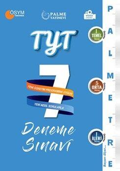 Palme YayınlarıTYT Palmetre Serisi 7 Deneme Sınavı