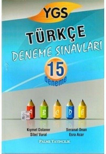 Palme YGS Türkçe 15 Deneme Sınavları