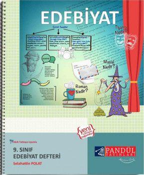 Pandül Yayınları 9. Sınıf Edebiyat Defteri