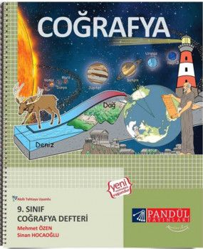 Pandül Yayınları 9. Sınıf Coğrafya Defteri