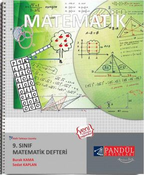 Pandül Yayınları 9. Sınıf Matematik Defteri