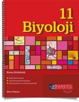 Pandül Yayınları 11. Sınıf Biyoloji Konu Anlatımlı