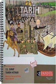 Pandül Yayınları 11. Sınıf Tarih Konu Anlatımlı