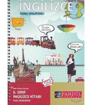 Pandül Yayınları 6. Sınıf İngilizce Defteri