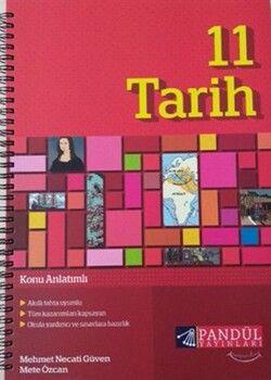 Pandül Yayınları 11. Sınıf Tarih Defteri