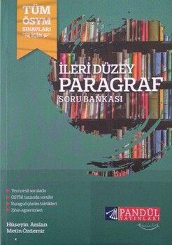 Pandül Yayınları TYT AYT İleri Düzey Paragraf Soru Bankası