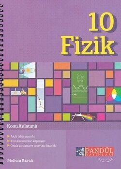 Pandül Yayınları 10. Sınıf Fizik Defteri