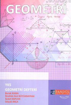 Pandül Yayınları YKS 2. Oturum Geometri Defteri