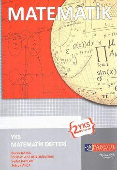 Pandül Yayınları YKS 2. Oturum Matematik Defteri