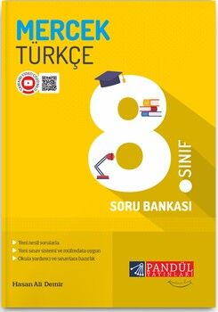 Pandül Yayınları 8. Sınıf Türkçe Mercek Soru Bankası