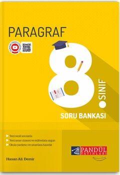 Pandül Yayınları 8. Sınıf Paragraf Soru Bankası