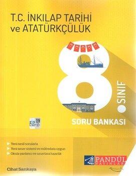 Pandül Yayınları8. Sınıf İnkılap Tarihi ve Atatürkçülük Soru Bankası